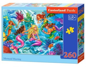 Castorland Puzzle 260 elementów Mermaid Meeting