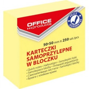 Office Products Karteczki 50 x 50 mm samoprzylepne